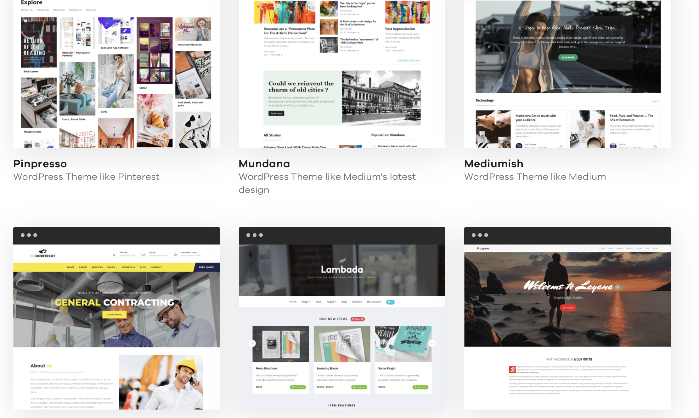 Tops + amazing Medium WordPress themes focusing on the readability for bloggers